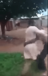 Pastor Almost Got Beaten Up By Mad Man During Deliverance (Hilarious Video)